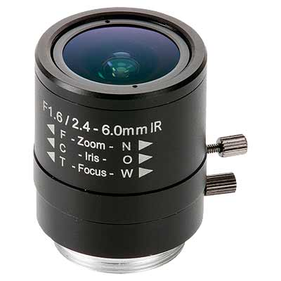 Axis Communications 5503-181 manual iris varifocal lens