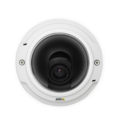 Axis introduces industry's first fixed dome network cameras with 3 megapixel and P-Iris control