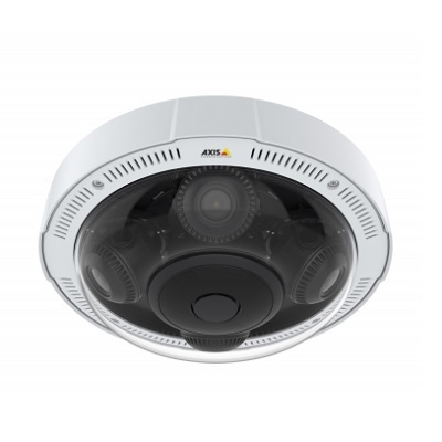 Axis Communications P3717-PLE 8 MP Multidirectional IP Dome Camera