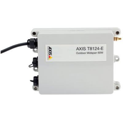 Axis Communications AXIS T8124-E Single Port Outdoor Midspan
