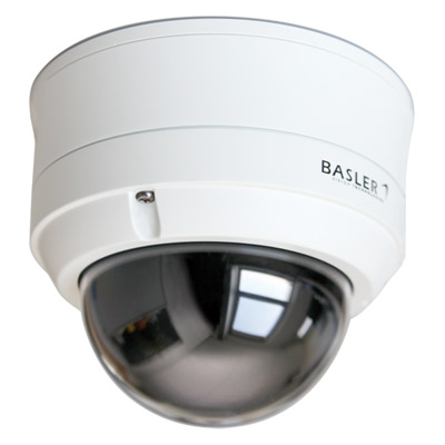 Basler IP Cameras with a fixed dome housing