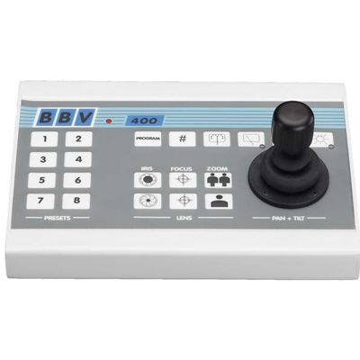 BBV TX400/DC single channel desk telemetry TX with presets and joystick