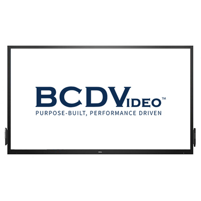 BCDVideo BCD-MON-C8618QT DELL 86 interactive touch monitor