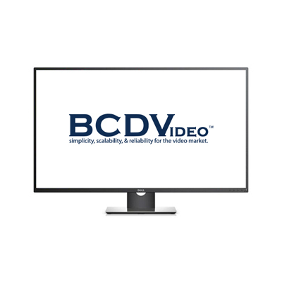 BCDVideo BCD-MON-P4317Q Dell 43 Multi-Client Monitor