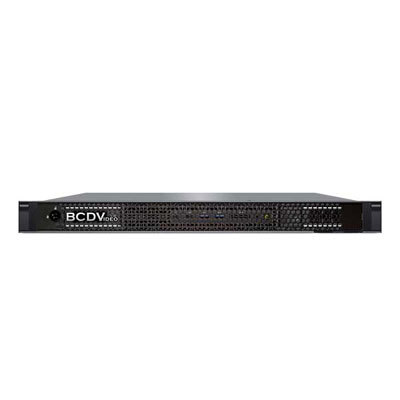 BCDVideo BCD102SD-ELVS 1U 2-bay rackmount short depth video recording server