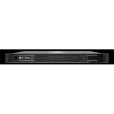 BCDVideo BCD102SD-MVR-M 1U 2-Bay Rackmount Short Depth Milestone Management Server