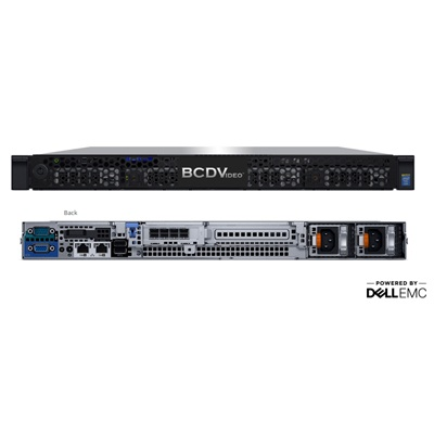 BCDVideo BCD104-ARA 1U 4-Bay Rackmount Video Recording Server/ Multi-Purpose Server