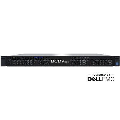 BCDVideo BCD104-NRA 1U 4-Bay Rackmount Video Recording Server
