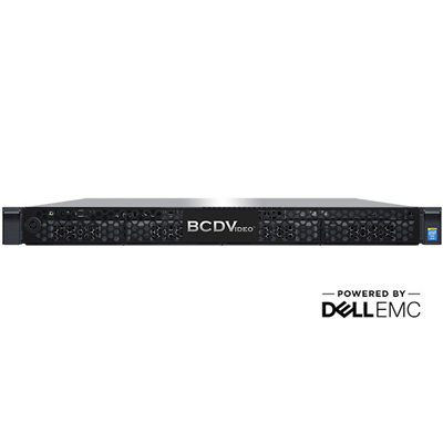 BCDVideo BCD104SD-NRA 1U 4-Bay Rackmount Video Recording Server