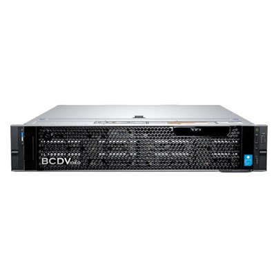 BCDVideo BCD208-MVR-P professional 2U 8-bay rackmount Milestone video server