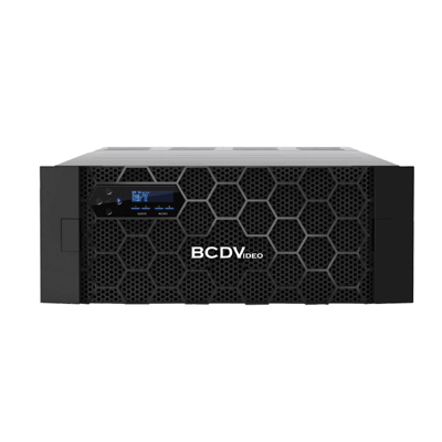 BCDVideo BCD480X-NAS 4U 80-Bay Rackmount Scale-Out Network Attached Storage