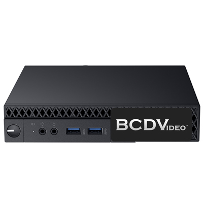 BCDVideo BCDM01-MVR-EL Entry Level Micro Milestone Appliance