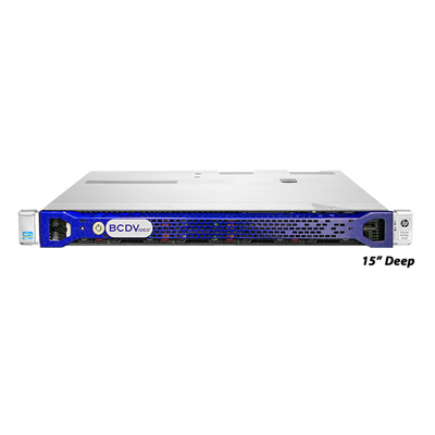 BCDVideo BCD320R-SDS-M-WS 1U rack-mount workstation