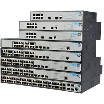 BCDVideo HP 1920-48G-PoE+ (370W) PoE switch
