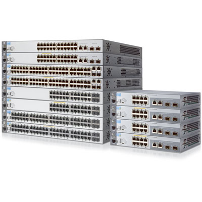 BCDVideo HP 2530-8-PoE+ Internal PS PoE switch