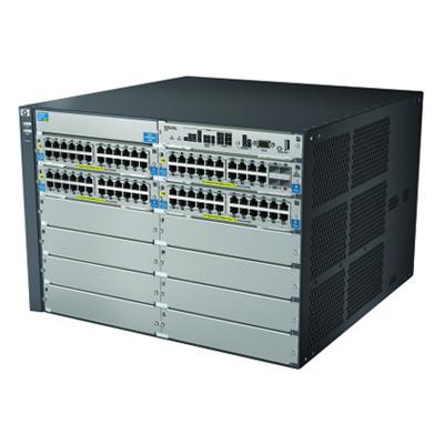 BCDVideo HP 5406-44G-PoE+-2XG v2 zl Switch