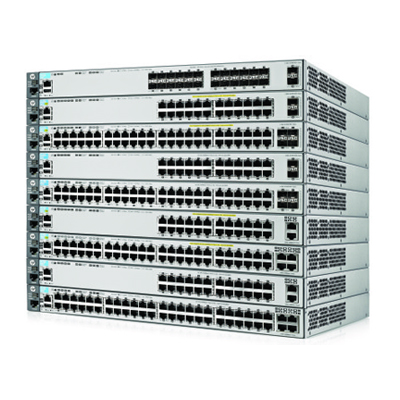 BCDVideo HP3800-24G-PoE+-2SFP+ switch
