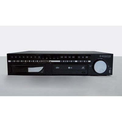 Bewator EVLB-R16-1.5TB - easy, user friendly 1.5TB HDD DVR