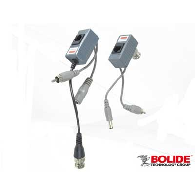Bolide BE8016-VAP video/audio power balun
