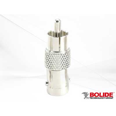 Bolide BP0006 RCA Male To BNC Female Connector