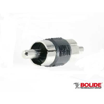 Bolide BP0028 male RCA to male RCA coupler