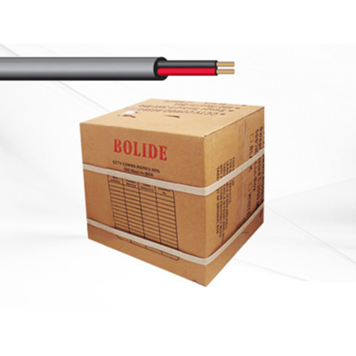 Bolide BP0033-18-2black 1000FT UL Listed 18/2 cable, black colour