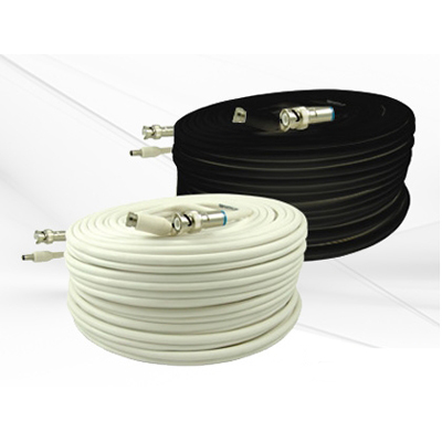 Bolide BP0033-PM25 25FT premade RG59 combo CCTV cable