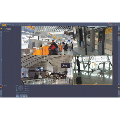 Bosch BVC-ESIP08A CCTV software with live viewing of multiple cameras
