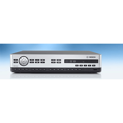 Bosch DVR 630 16A200 digital video recorder with full-screen, quad and multi-screen display capabilities