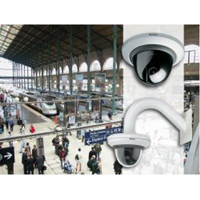 Bosch enhanced FlexiDome<SUP>XT</SUP> cameras displayed at IFSEC 2005