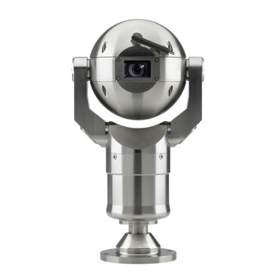 Bosch MIC400STSUW13518P MIC 400 series stainless steel 18x zoom PTZ dome camera