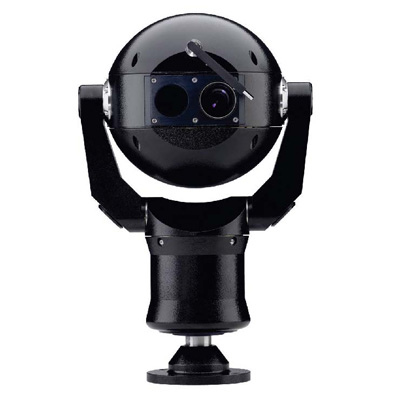 Bosch MIC412TIBUW13636P dome camera with dual thermal/optical operation