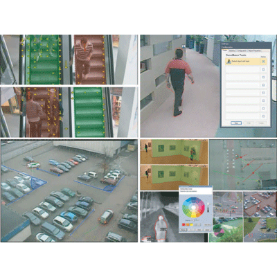 Bosch MVC-FIVA4-ENC4 CCTV software with video motion detection capabilities for indoor or outdoor use