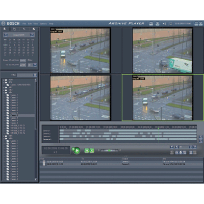 Bosch MVM-BVRM v2.0 CCTV software with distributed storage and configurable load balancing