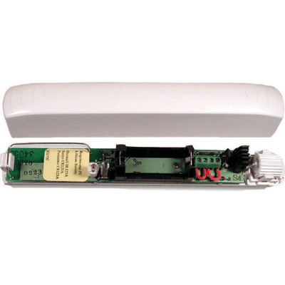 Bosch RF3405E intruder alarm communicator with internal magnetic reed switch