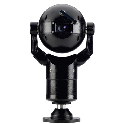 Bosch MIC400ALBCW13518P black CCTV dome camera with 18x zoom and privacy function