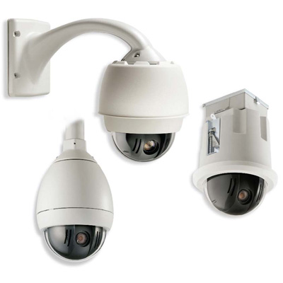 Bosch VG5-613-CCS internal true day / night PTZ in-ceiling dome camera