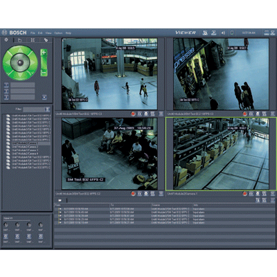 Bosch Video-over-IP (BVIP) Lite Suite CCTV software