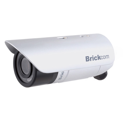 Brickcom OB-040C bullet network camera with 3.3 ~ 12 mm focal length and WDR