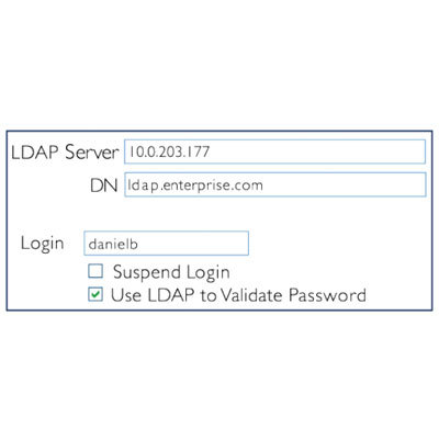 CyberLock CAW-M05 LDAP authentication software enhancement module