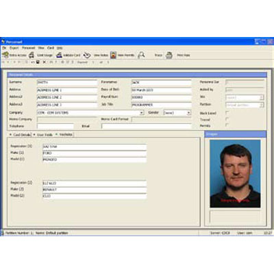 CEM AC2000 SIA Intruder Interface compatible with multiple intruder detection systems
