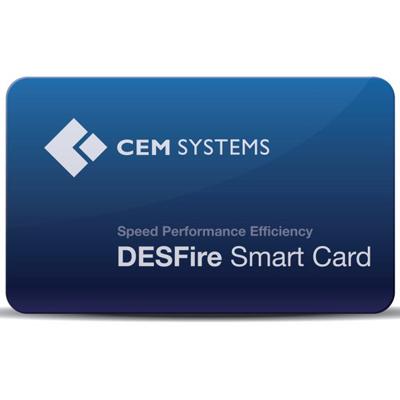 CEM CRD/218/004 DESFire contactless smart card