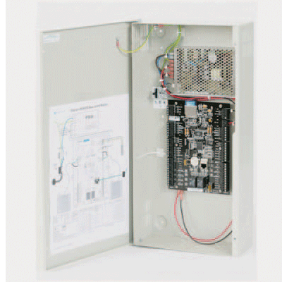 CEM eDCM 350 access control controller with integrated backup battery monitoring and trickle charging
