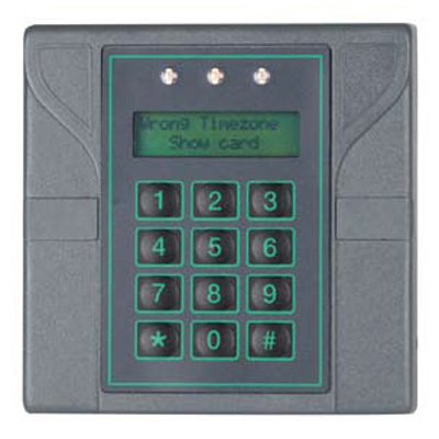 CEM EtherProx EPO200 intelligent proximity reader with keypad for added PIN security