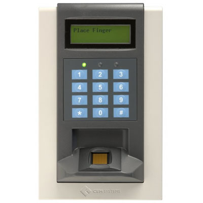 CEM RDR/615/107 DESFire fingerprint reader
