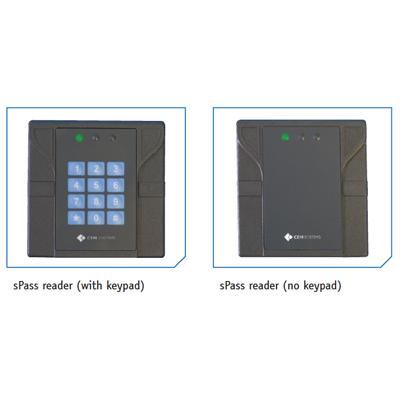 CEM sPass DESFire reader contactless smart card reader