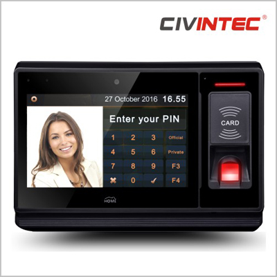 CIVINTEC uTouch: Programmable, general-purpose intelligent terminal