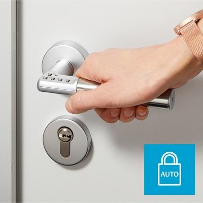 Code Handle®: PIN-secured door handle