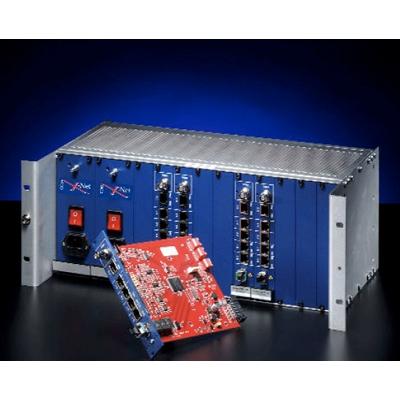COE X-Net Media Converter effective copper-to-fiber transmission module