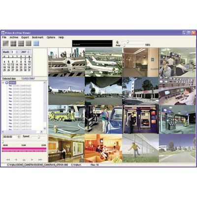 COE X-Net Network Video Recorder powerful software solution for recording and archiving